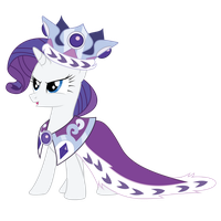 Rarity- Royalty by charli3brav0