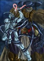 Guyver vs Zeiram by zeiram0034