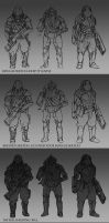 Soldier Concept Tutorial by whatzitoya