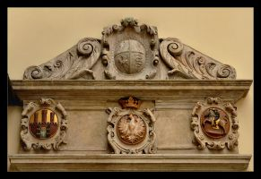 Coats Of Arms - Jagiellonian University - Cracow by skarzynscy