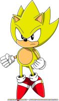 Classic Super Sonic by Advert-man
