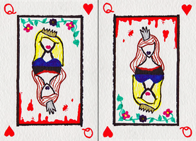 Queen of Hearts by lonelynightmares