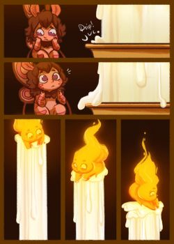 Moth and the Flame 7 by StressedJenny