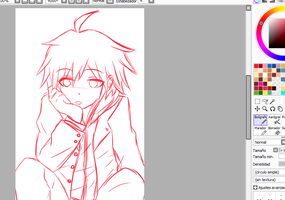 Naegi Wip is ready(?) by DopellSerch