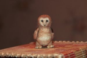 Felting - Other owl. by Moonticore