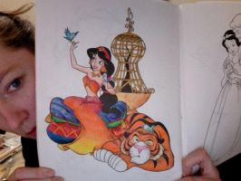 Disney Coloring Book 7 by Element-of-Air