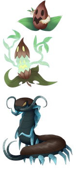 Fakemon: Oompa-loompa doompety doo by That-One-Leo