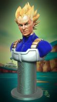 Vegeta Prince Of Super Saiya by Veus-T