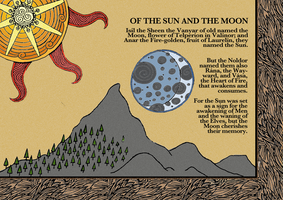 Of the sun and the moon by demonicduck08