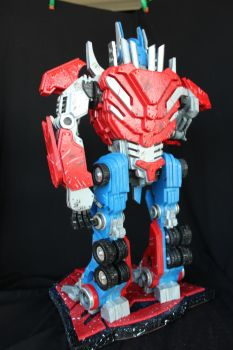 Optimus Prime 3 (Without War Ax) by RamageArt
