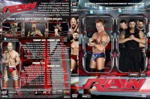 WWE Raw February 2013 DVD Cover by Chirantha