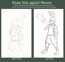 Draw This Again Meme by 7th-Swell