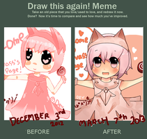 .:Draw this again Meme o3o:. by ComvassArt