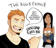 The Kelly Family by MooseFroos
