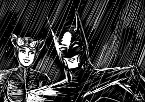 The Cat and the Bat by adamantis