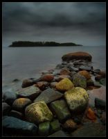 Stone Jetty II by Solkku