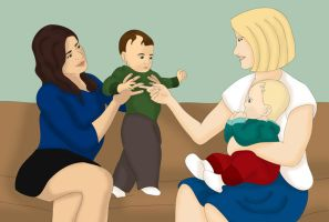 Faberry Week - Fababies by JewelOfSong