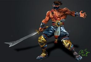Killer Instinct Jago 2013 by osx-mkx