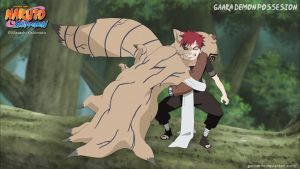 Gaara Demon Possession by goriverde