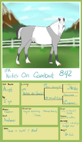 842 TFR Notes On Combat *** by TsonianFieldsRanch