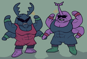 strong bugs by brotoad