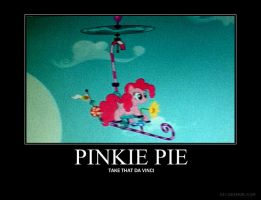 Pinkie Pie Flying Machine by soulless-5