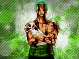 Zoro Wallpaper by AgusholliD