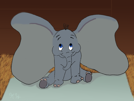 Dumbo by minty42