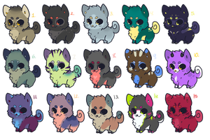 Doge Adoptables 02 by catdoq