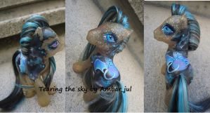 My little pony custom Tearing the sky by AmbarJulieta