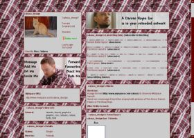 Darren Hayes MySpace layout 3 by musicalcat
