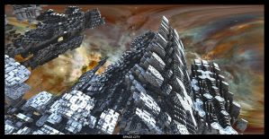 Space City I - Mandelbulb 3D by FireSnake666