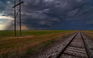 Tornado Tracks by MattGranzPhotography