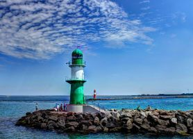 Green Lighthouse by Daemare