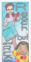 Old Library Bookmark by cascadia55