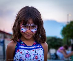 Face painting :) by 7whitefire7