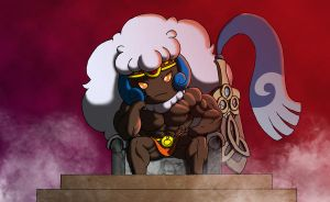 Heraclea, the barbarian whimsicott by astaroth90