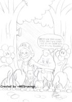 Mario Rpg - Forest Maze by MKDrawings