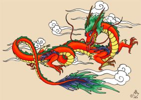 Asia Dragon by noot