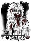 I heart Zombies - Child by latent-ookami