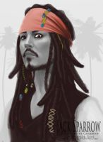Captain Jack Sparrow by Wogue