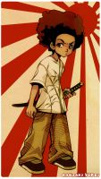 Boondocks: Huey by Yufei
