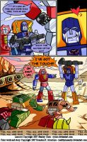 Transformers Comic Page by healthyinsanity