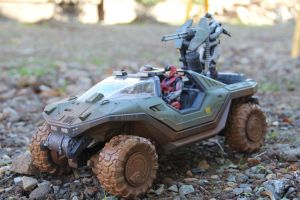 Halo:Reach Action Figure/Car. by Winter-218