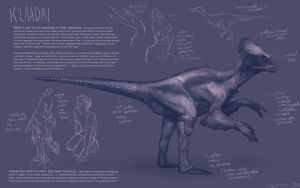 Dinosauroid by gruffin