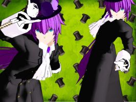 MMD Mad Hatter Gakupo UPDATE DL by Verkania