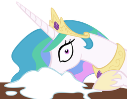 Celestia Loves Sugar by Derpy-Maple