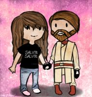 Obi Wan and me - Made by Starwarsfangirlever by PurpleWillowTrees