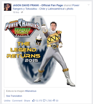 Jason David Frank Shared My Edit by WickedRedGrin