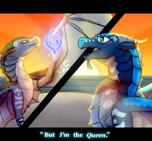 But I'M the QUEEN Collab by Sahel-SandWing